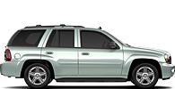 Chevrolet TrailBlazer wheels and tires specs icon