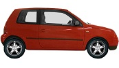 Volkswagen Lupo wheels and tires specs icon