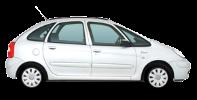 Citroën Xsara Picasso wheels and tires specs icon