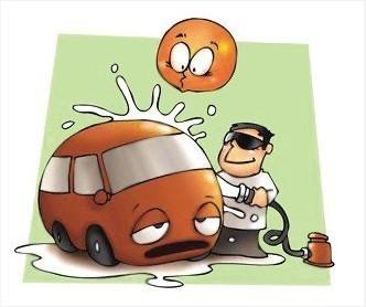 雪后洗车后为什么要及时把车烘干?