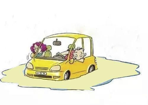 车轮陷入雪堆中怎么办?