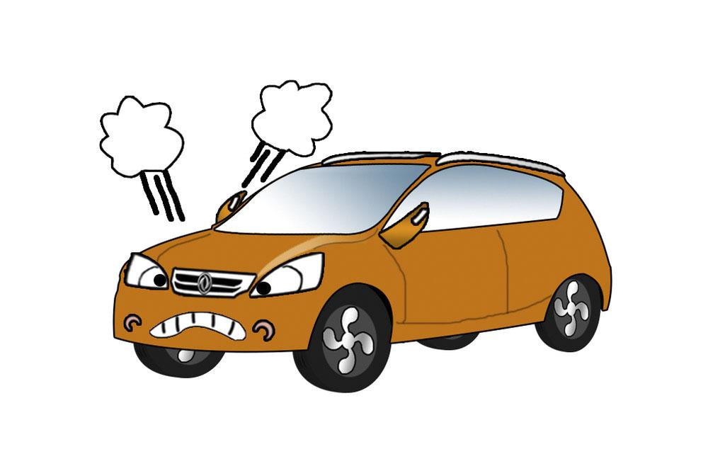 车辆遇到路面积水时的该怎么做呢?